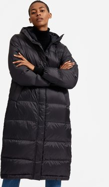 Re:Down® Sleeping Bag Puffer Coat by Everlane in Black, Size XL