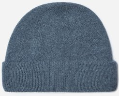 Alpaca Beanie by Everlane in Heathered Fern