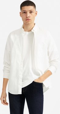 Slim Fit Japanese Oxford   Uniform Shirt by Everlane in White, Size XL