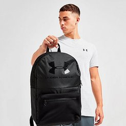 Loudon Backpack in Black 100% Polyester/Jacquard