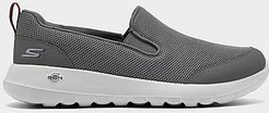 GOwalk Max - Clinched Slip-On Casual Shoes in Grey Size 10.0