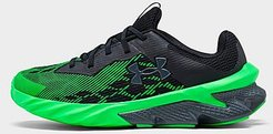 Boys' Little Kids' Charged Scramjet 3 Running Shoes in Green/Black/Black Size 2.5