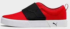 El Rey II Slip-On Casual Shoes in Red/High Risk Red Size 9.0 Canvas