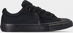 Boys' Little Kids' Chuck Taylor High Street Low Top Casual Shoes in Black Size 12.0 Canvas