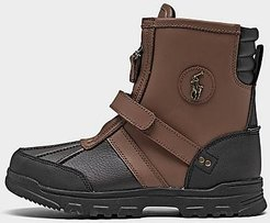 Girls' Big Kids' Conquered Hi Boots in Brown/Black Size 4.0 Leather