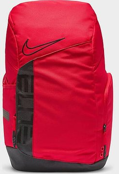 Elite Pro Hoops Basketball Backpack in Red/University Red 100% Polyester