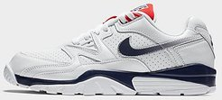 Air Cross Trainer 3 Training Shoes in White/White Size 7.0 Leather