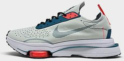 Air Zoom-Type Running Shoes in Grey/Light Silver Size 9.0 Suede