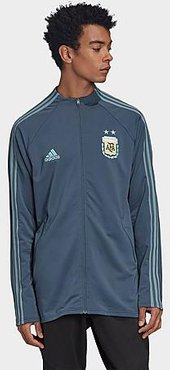 Argentina Soccer Anthem Jacket in Blue/Midnight Size Small Twill