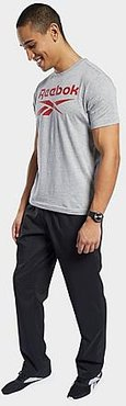 Training Essentials Woven Unlined Sweatpants in Black/Black Size Small 100% Polyester