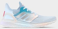 UltraBOOST 20 Running Shoes in Blue/White Size 6.0 Knit