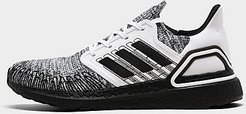 UltraBOOST 20 Running Shoes in White/Footwear White Size 8.0 Knit