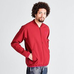 Originals Winterized Track Jacket in Red Size Medium 100% Polyester