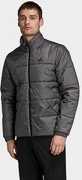 Badge of Sport Insulated Winter Jacket in Grey Size Small