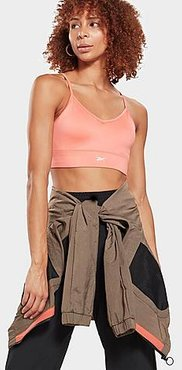 Workout Ready Medium-Impact Sports Bra in Orange/Twisted Coral Size X-Small