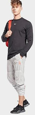 MYT Ollie Jogger Pants in Grey/Pure Grey 2 Size Small 100% Nylon