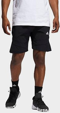 Cross Up 365 Shorts in Black/Black Size X-Small