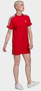 Originals HER Studio London Tee Dress in Red/Scarlet Size X-Small Cotton/Jersey