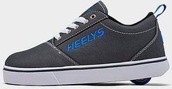 Big Kids' GR8 Pro 20 Wheeled Skate Casual Shoes in Black Size 4.0 Nylon/Canvas/Microfiber