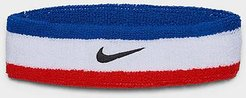 Swoosh Headband in Red/Red Cotton/Nylon/Polyester