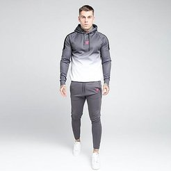 Athlete Jogger Pants in Grey/Charcoal Size Small Silk