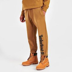 Core Logo Jogger Pants in Brown/Wheat Size Small Cotton/Polyester/Fleece