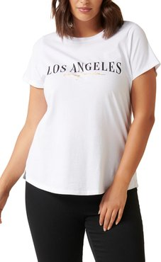 Plus Size Women's Ever New Los Angeles Graphic Tee
