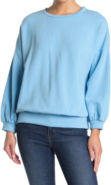 Workshop Bishop Sleeve Pullover Sweatshirt at Nordstrom Rack
