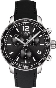 Tissot Quickster Chrono Rubber Strap Watch, 42mm at Nordstrom Rack