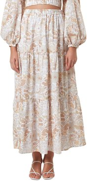Willow Tiered Maxi Skirt