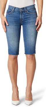 Amelia Cutoff Knee Denim Shorts