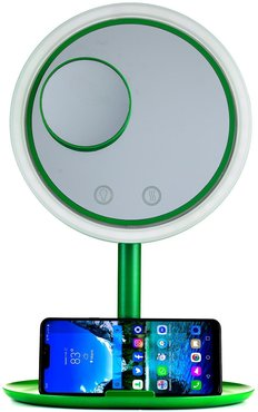POP SONIC LED Magnifying Makeup Fan Mirror at Nordstrom Rack