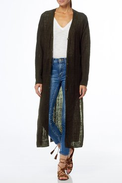 360 Cashmere Autumn Linen Duster Cardigan at Nordstrom Rack