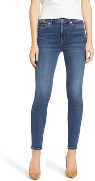 Candice High Waist Ankle Skinny Jeans
