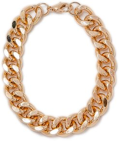 Crossover Curb Chain Bracelet