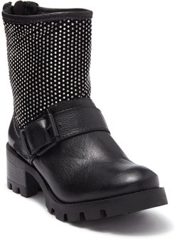 Schutz Galena Studded Leather Moto Boot at Nordstrom Rack