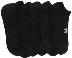 Under Armour Training Cotton Blend No Show Socks - Pack of 6 at Nordstrom Rack