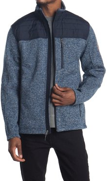 Free Country Quilted Fleece Zip Jacket at Nordstrom Rack
