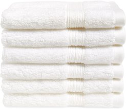 6-Pack Cotton Washcloth Set