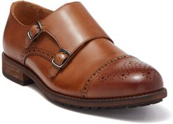 Warfield & Grand Madison Leather Double Monk Strap Loafer at Nordstrom Rack