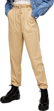 Marl Tapered Trousers