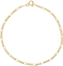 14K Gold Thin Figaro Chain Bracelet (Nordstrom Exclusive)
