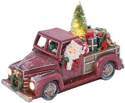 """Gerson Company 16.45""""L Santa & Presents Lighted Holiday Truck at Nordstrom Rack"""