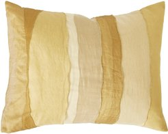 Gilded Sheer Layered Accent Pillow