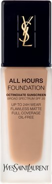 All Hours Full Coverage Matte Foundation With Spf 20 - B60 Amber