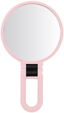 UPPER CANADA SOAPS Danielle Soft Touch Hand Held Foldable Mirror - Blush Pink at Nordstrom Rack