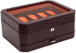 Windsor Watch & Accessory Case - Brown