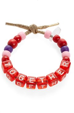 Together Beaded Bracelet