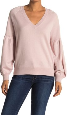 360 Cashmere Mabel Blouson Sleeve Sweater at Nordstrom Rack