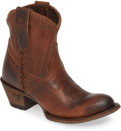 Plain Jane Western Boot